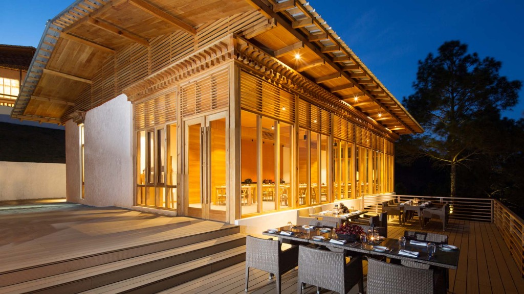Dhensa Boutique Resort Terrasse