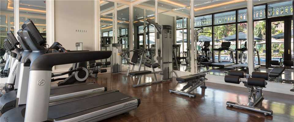 The Strand Fitnessbereich