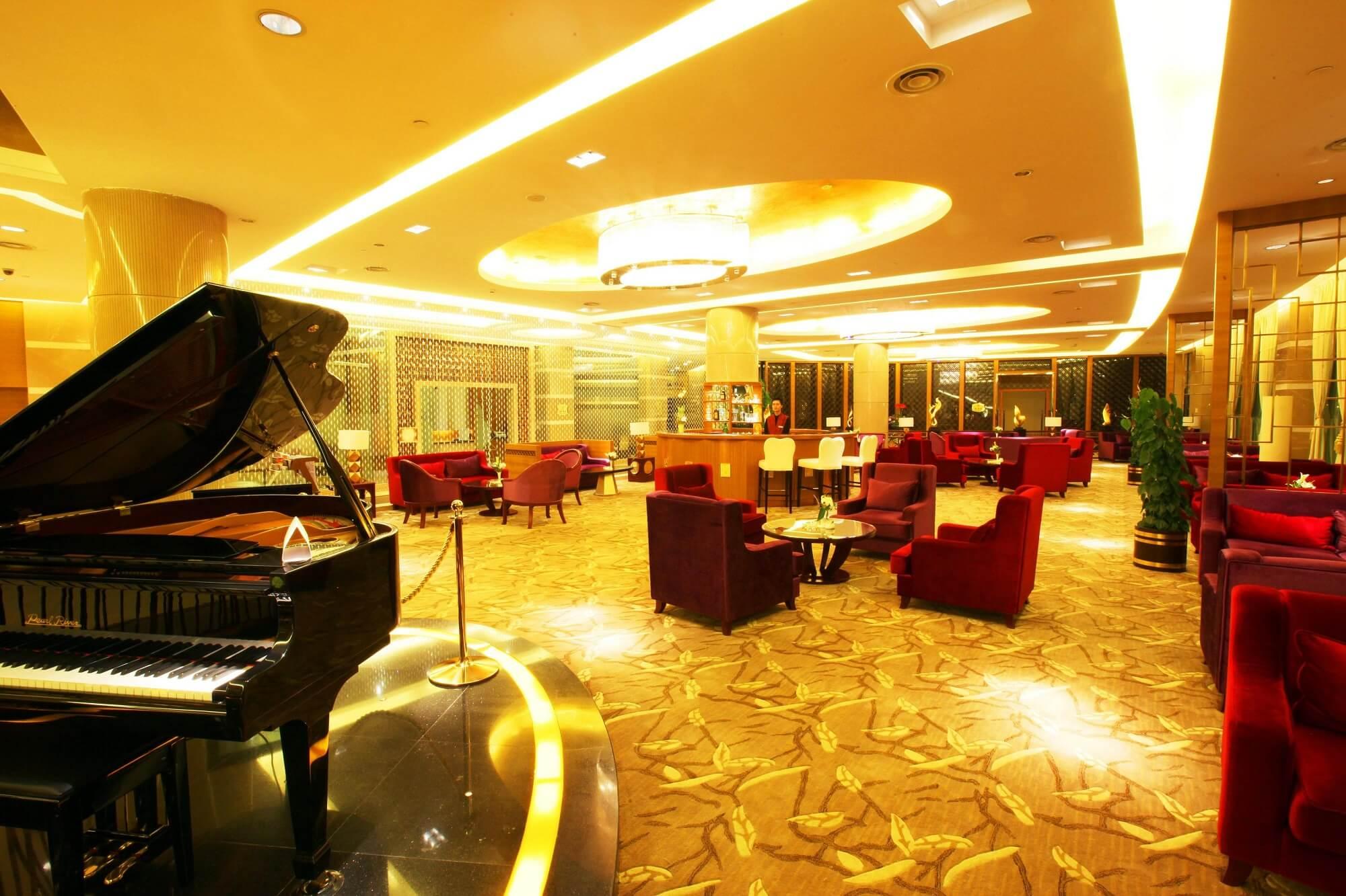 Qinghe Jinjiang International Hotel Lobby Bar