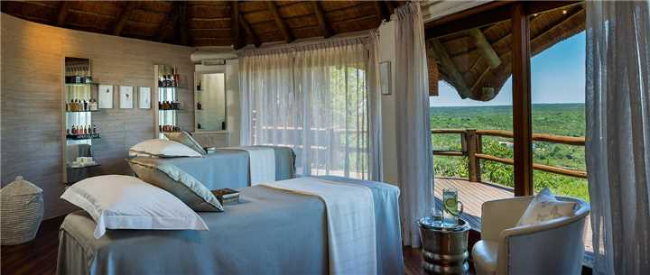 Ulusaba Safari Lodge Wellnessbereich