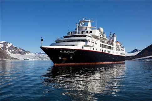 Silverseas Cruises Silver Explorer Außenansicht