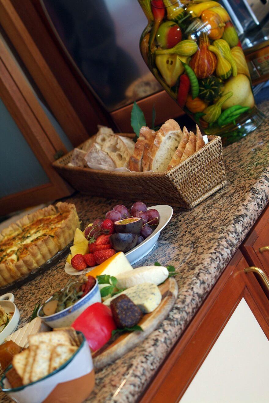 Lake Taupo Lodge Frühstück