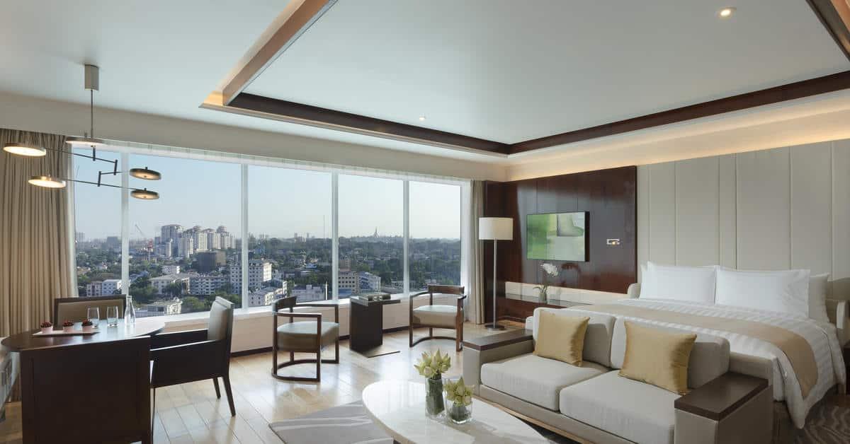 Melia Yangon Premium Doppelzimmer