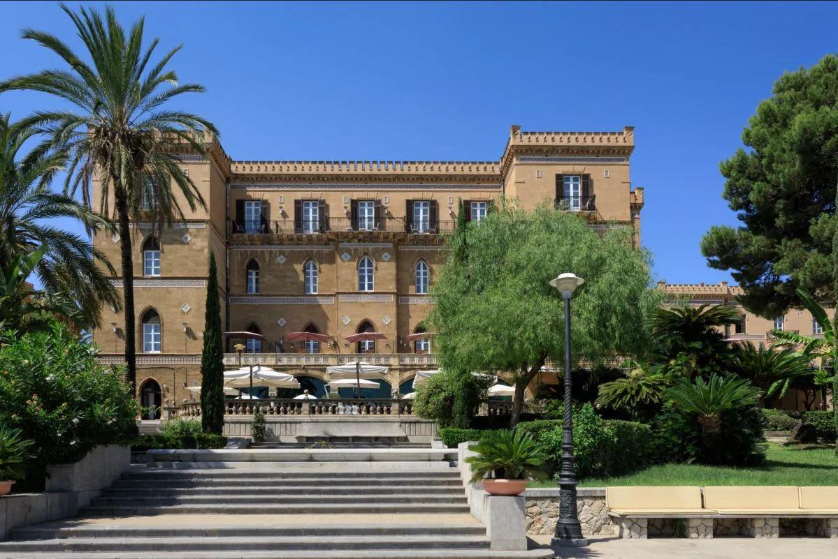 Grand Hotel Villa Igiea Außenansicht