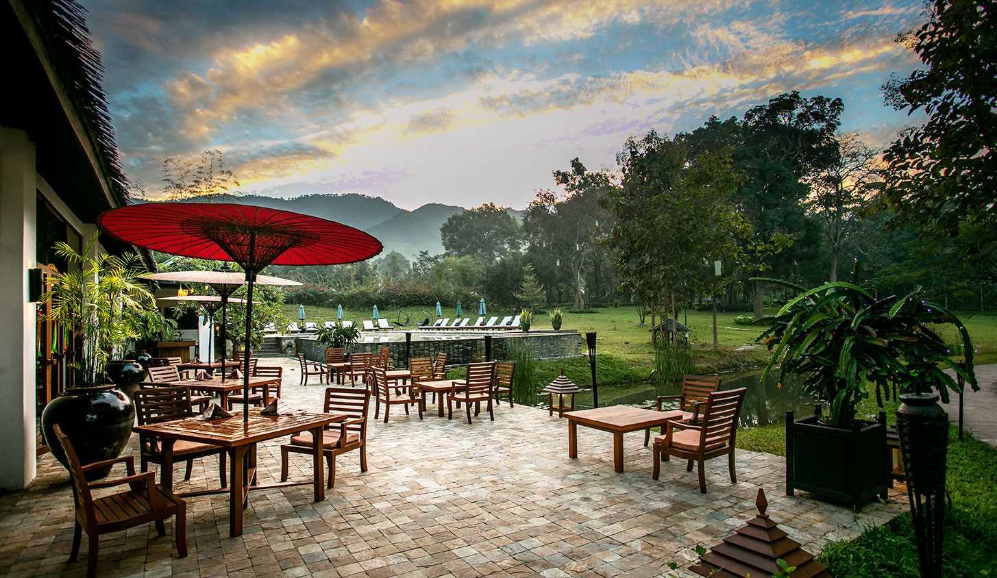 Villa Inle Boutique Resort Terrasse