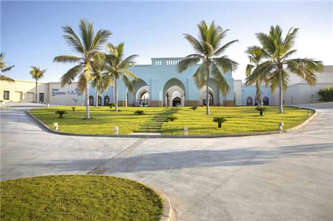 Salalah Rotana Resort Eingangsbereich