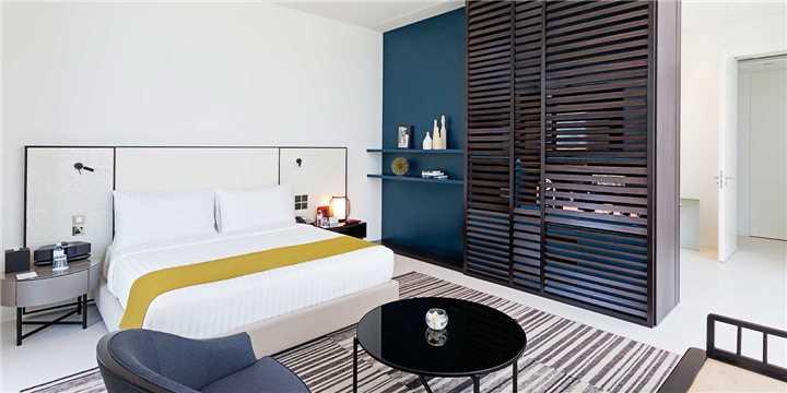 The Oberoi Beach Resort Bedroom Villa