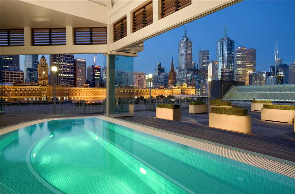 The Langham Melbourne Pool