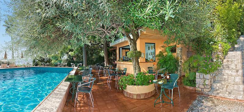 Hotel Villa Belvedere in Taormina Pool