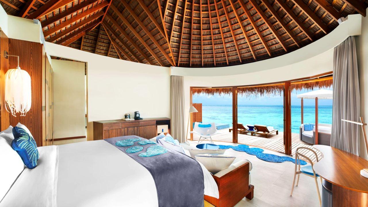 W Maledives Zimmer