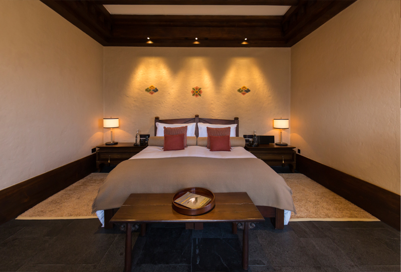 Gangtey Lodge Doppelzimmer