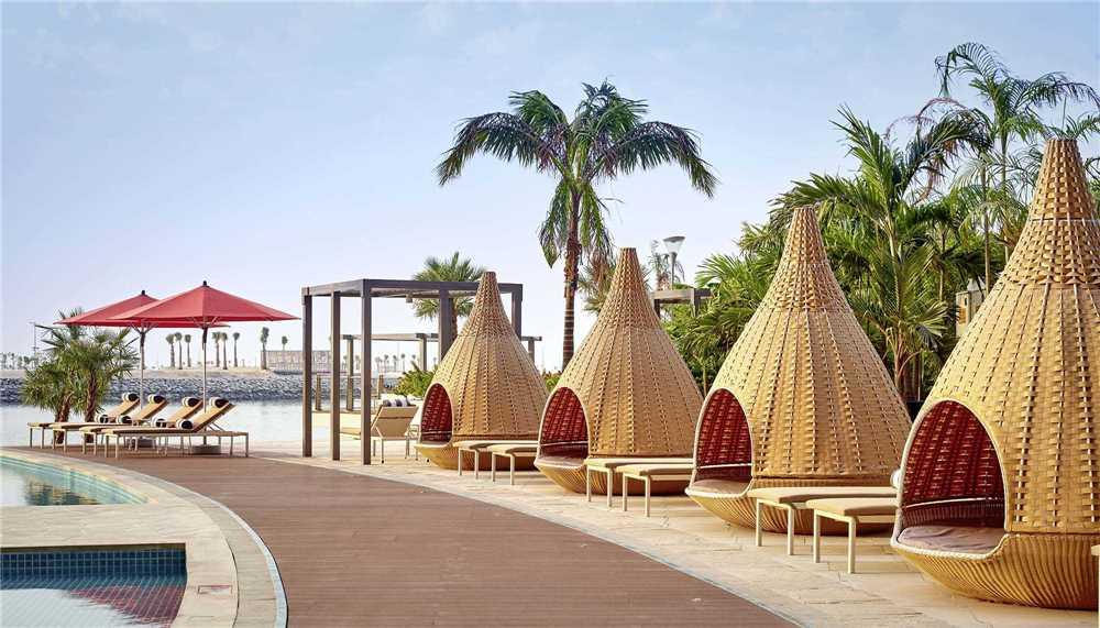 Grand Hyatt Abu Dhabi Hotel & Residences Emirates Pearl Liegen