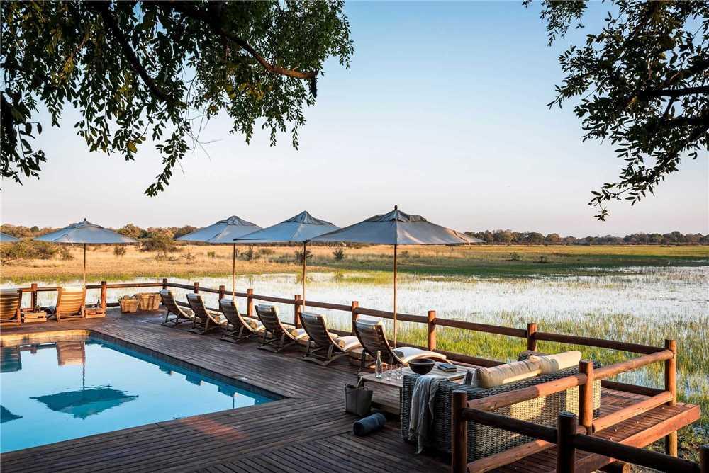 Sanctuary Chiefs Camp Pool Aussicht