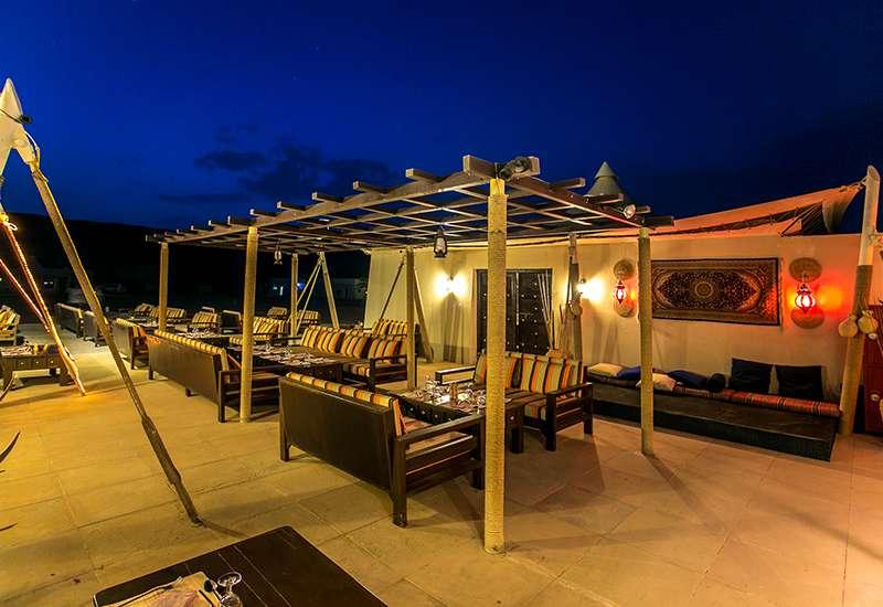 Desert Night Camp Restaurant