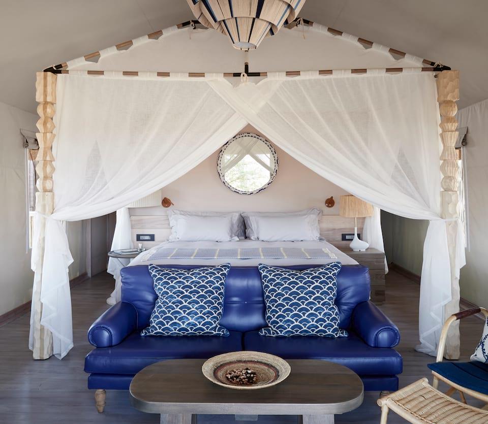Belmond Savute Elephant Lodge Luxury Tent