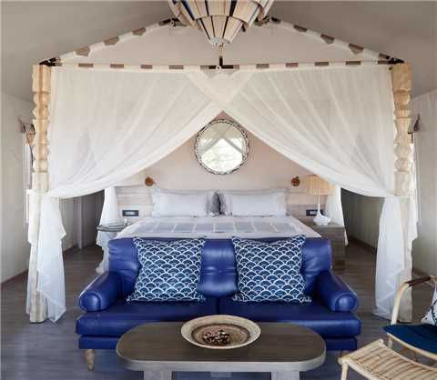 Belmond Savute Elephant Lodge Luxury Tent