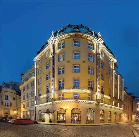 Grand Hotel Bohemia Außenansicht