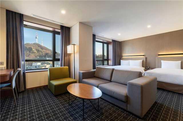 Tmark Grand Hotel Myeongdong Doppelzimmer