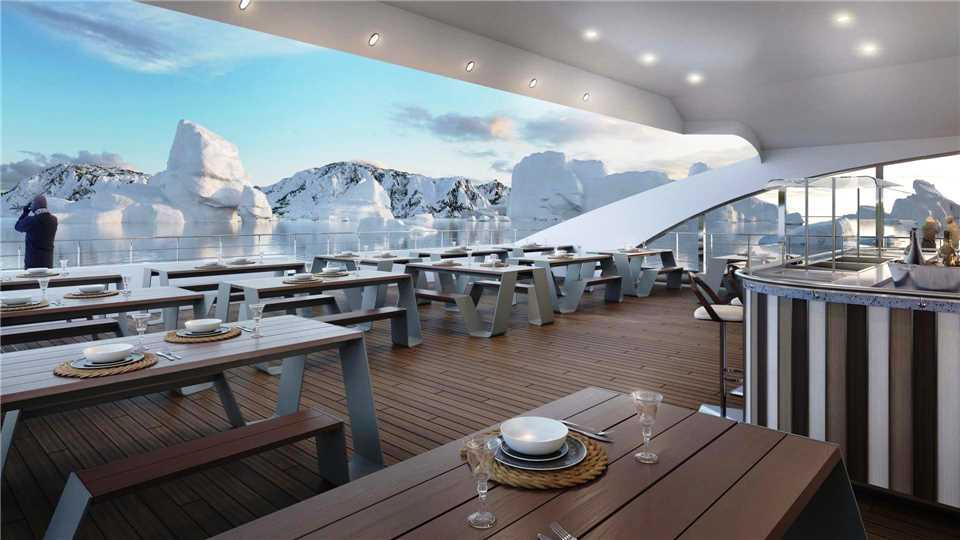 Antarctica 21 MS Magellan Explorer Restaurant