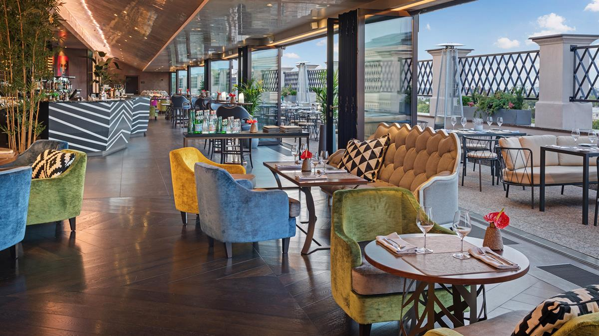 Grand Hotel Kempinski Riga Rooftop Bar
