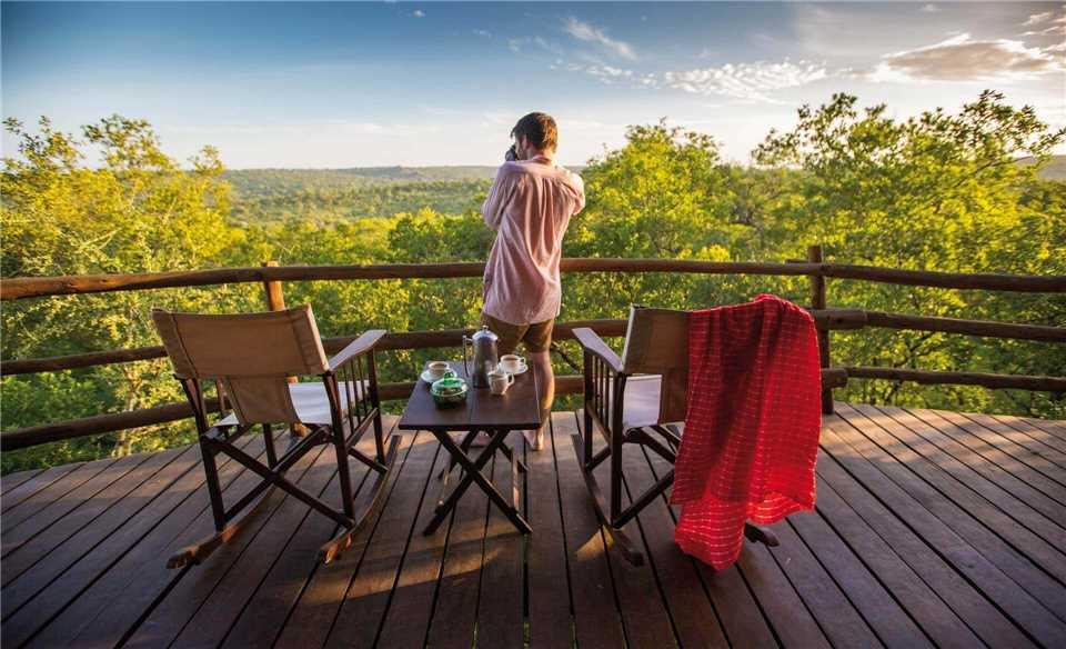 Tarangire Treetops Terrasse