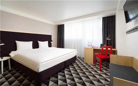 AZIMUT Hotel Murmansk Doppelzimmer