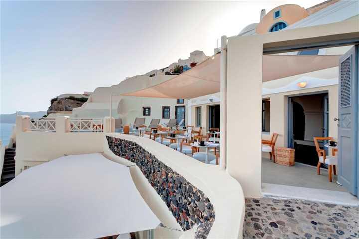 Hotel Mystique Santorini Restaurant
