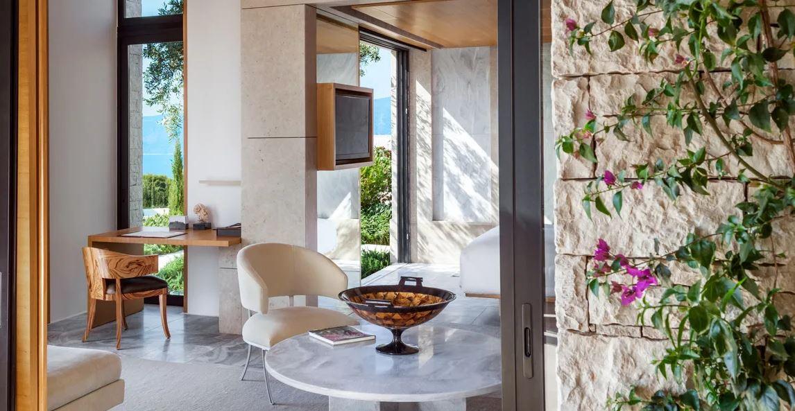 Amanzoe Resort Pavillion