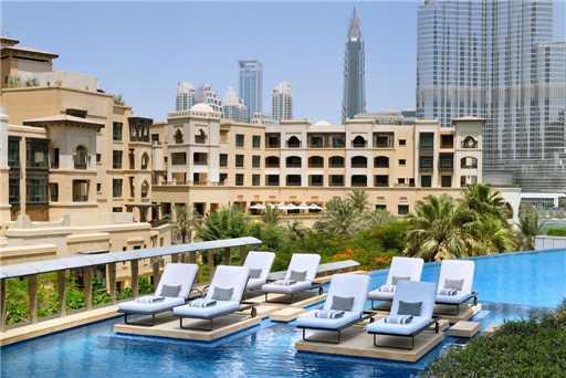 The Address Downtown Dubai Pool