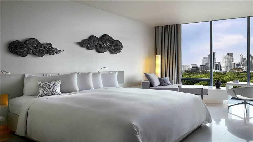 SO Sofitel Bangkok Doppelzimmer