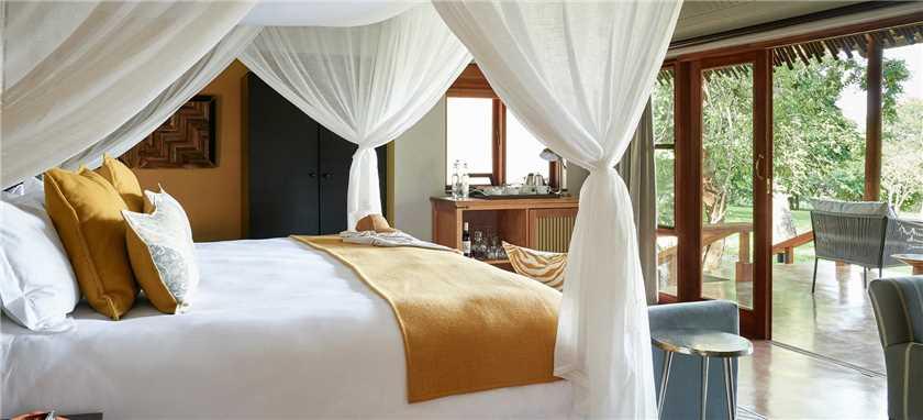 Sanctuary Chobe Chilwero Doppelzimmer