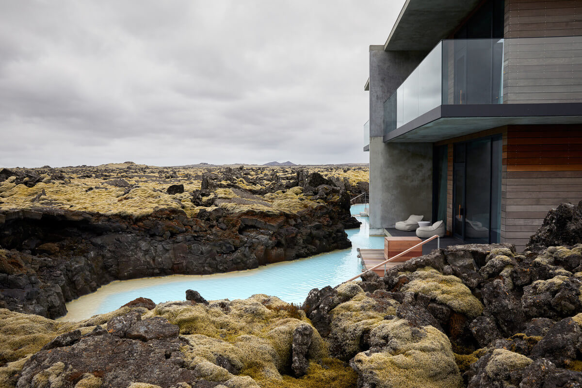 The Retreat at Blue Lagoon Iceland Außenansicht