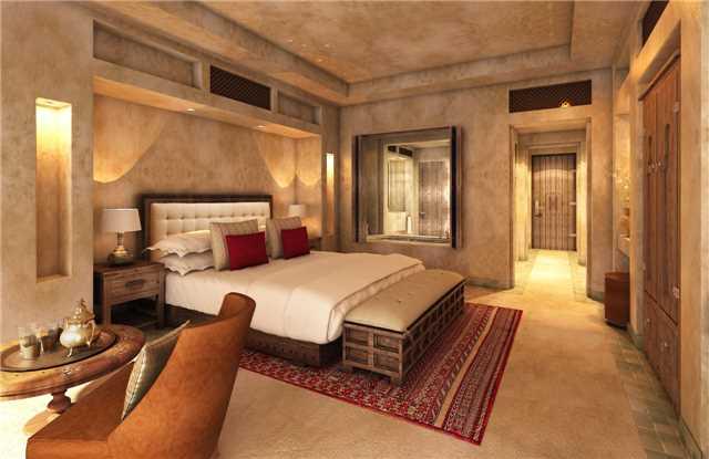 Jumeirah al Wathba Desert Resort Standard Zimmer