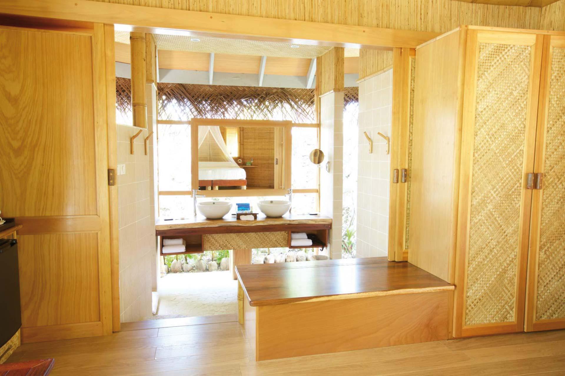 Tikehau Pearl Beach Resort Badezimmer