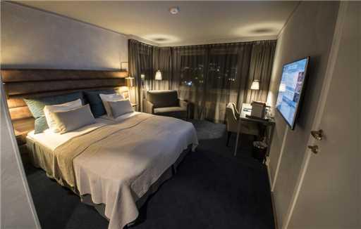 Radisson Blu Polar Hotel Spitsbergen Doppelzimmer Standard
