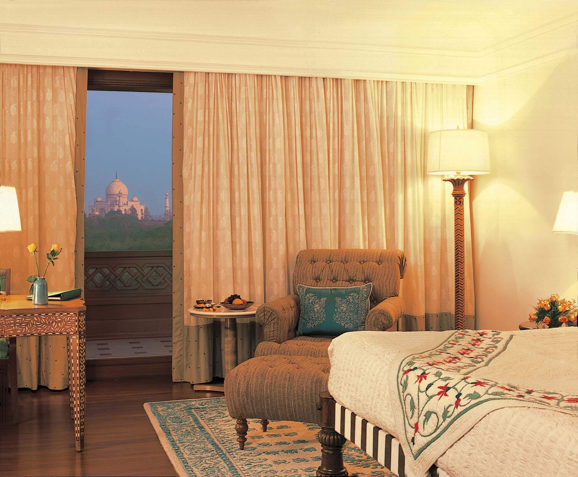 The Oberoi Amarvilas Zimmer mit Blick