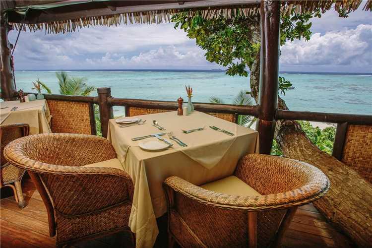 Pacific Resort Aitutaki Nui Restaurant