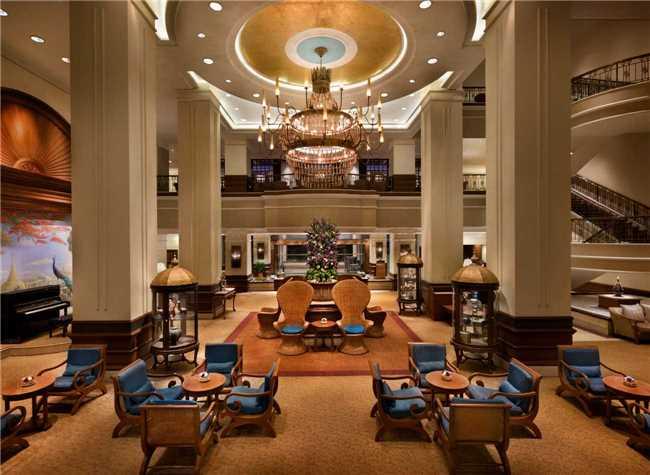 Sule Shangri-La Yangon Lounge