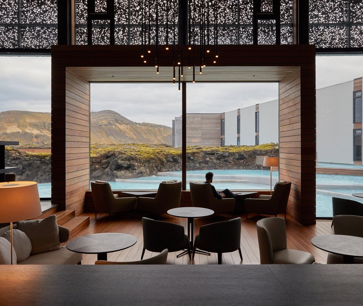 The Retreat at Blue Lagoon Iceland Lobby