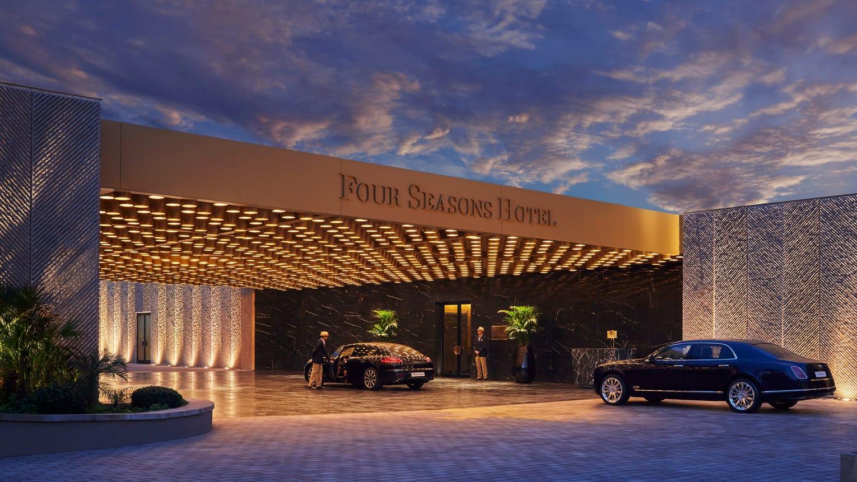 Four Seasons Hotel Casablanca Außenansicht