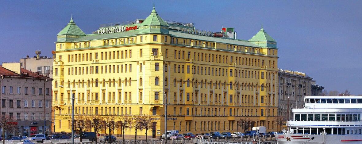 Crowne Plaza Ligovsky Hotelansicht