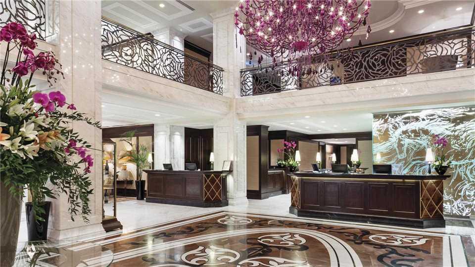 Hotel Baltschug Kempinski Empfangsbereich