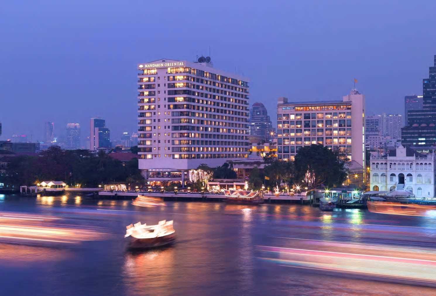 Mandarin Oriental Bangkok Außenansicht