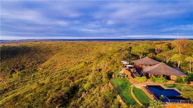The Manor at Ngorongoro Panoramablick