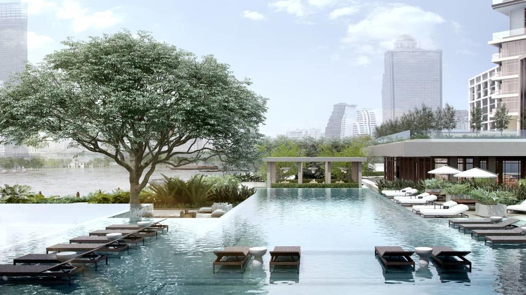 Four Seasons at Chao Phraya River Pool