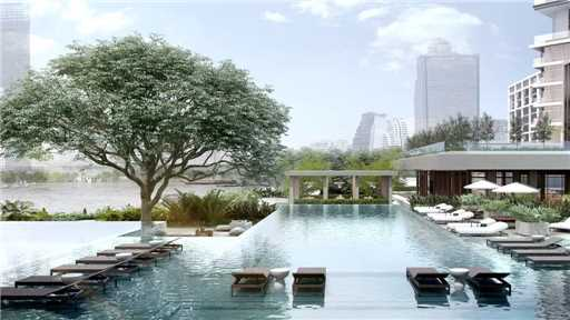Four Seasons at Chao Phraya River Pool