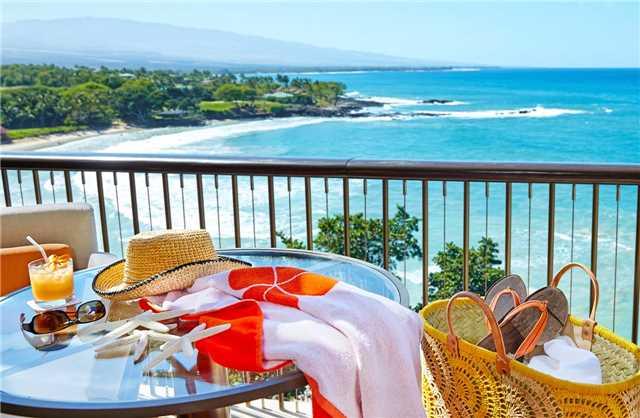 Mauna Kea Beach Hotel Balkon