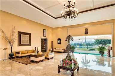 The LaLit Template View Khajuraho Lobby