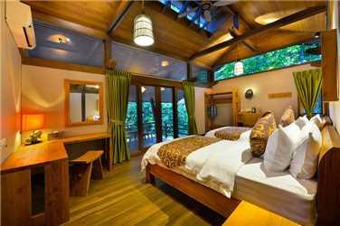 Sukau Rainforest Lodge Doppelzimmer