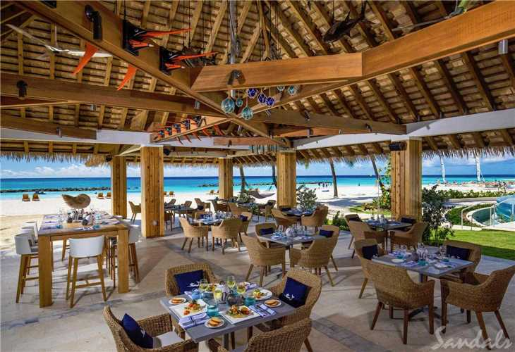 Royal Sandals Barbados Restaurant Terrasse